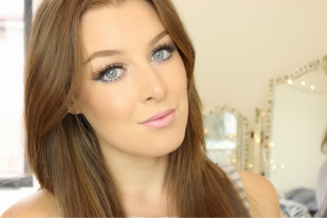 Bronze summer makeup using ardell demi wispies false lashes