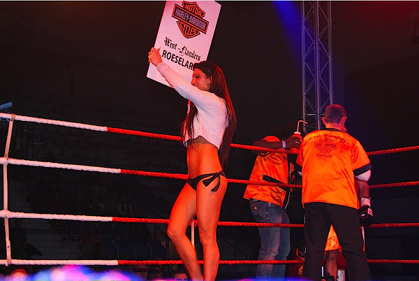 Stripster Lisa, World Championsip Boxing Roeselare