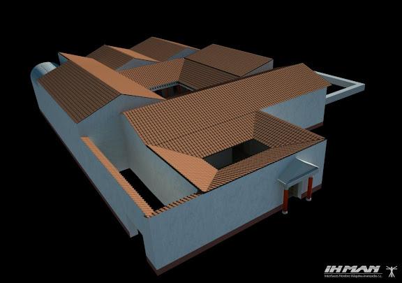 Villa 3d modo texturas