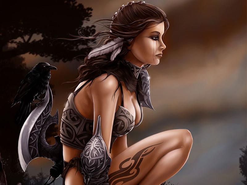 Sister Of Raven, Sorceress 3
