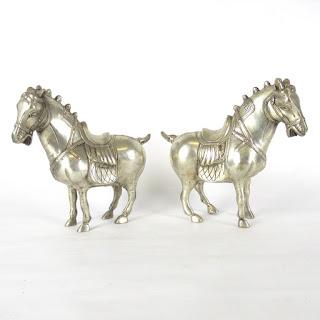 Asian Horse Pair