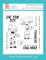 Zombie Kids Stamps