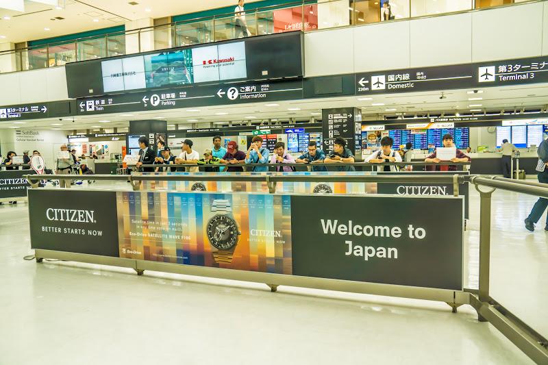 成田空港 到着ロビー1
