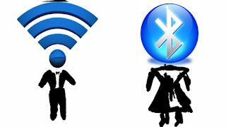 L'homme est comme le Wifi et la Femme comme le Bleutooth