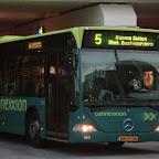 Mercedes Citaro van Connexxion bus 9112 met lijn 5 naar Almere Buiten Station Oostvaarders