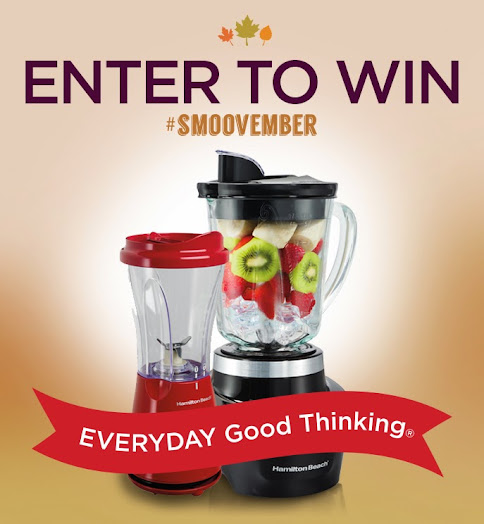 Win a Smoothie Smart Blender & Single-Serve Blender During #Smoovember