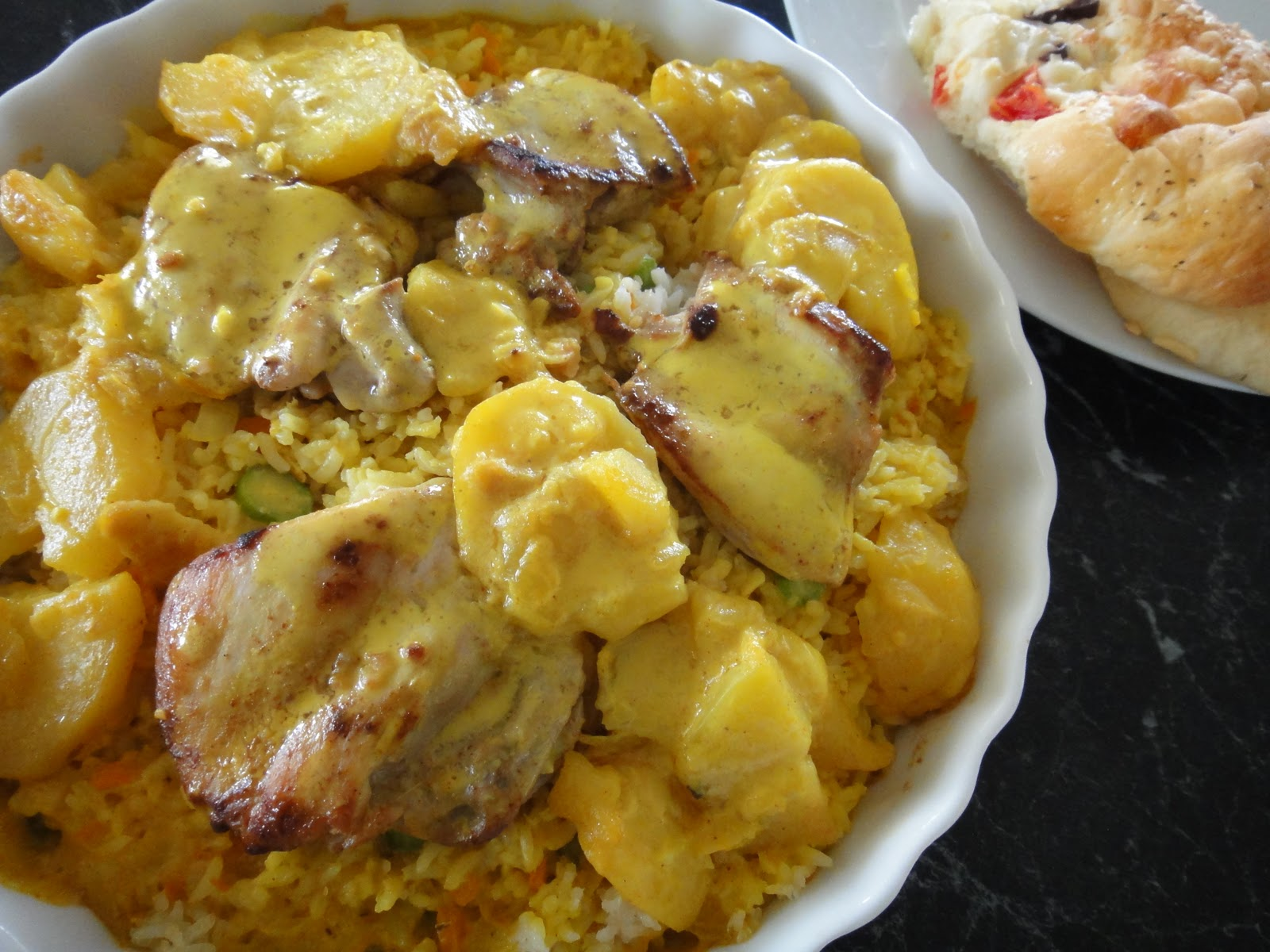 Veronica's Kitchen: Baked Portuguese Chicken and Rice (Part 2)