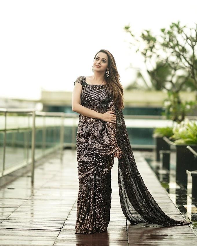 Malayalam Actress Bhavana Menon Latest Saree Photoshoot