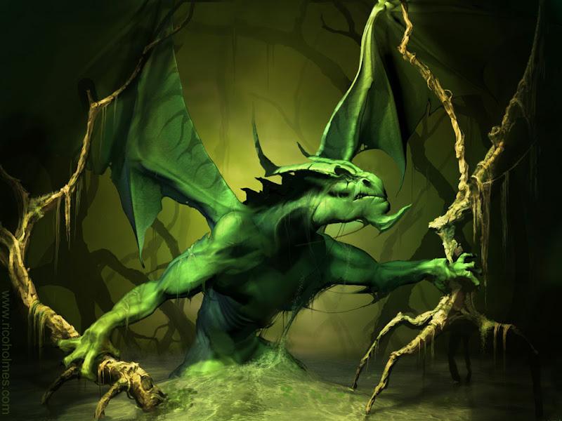 Drangon Lizard, Dragons