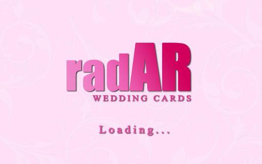 radAR - wedding cards