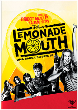 Lemonade Mouth Uma Banda Diferente DVD-R