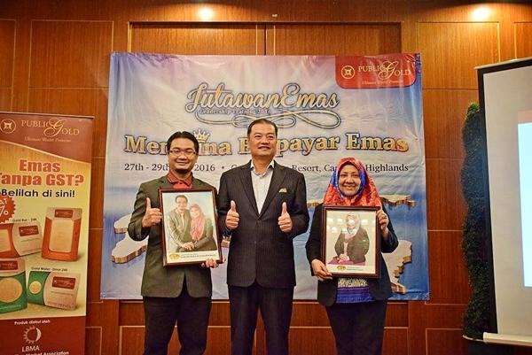 Sapphire Master Dealer Mahaguru Syukor dan Jade Master Dealer mama Azizah