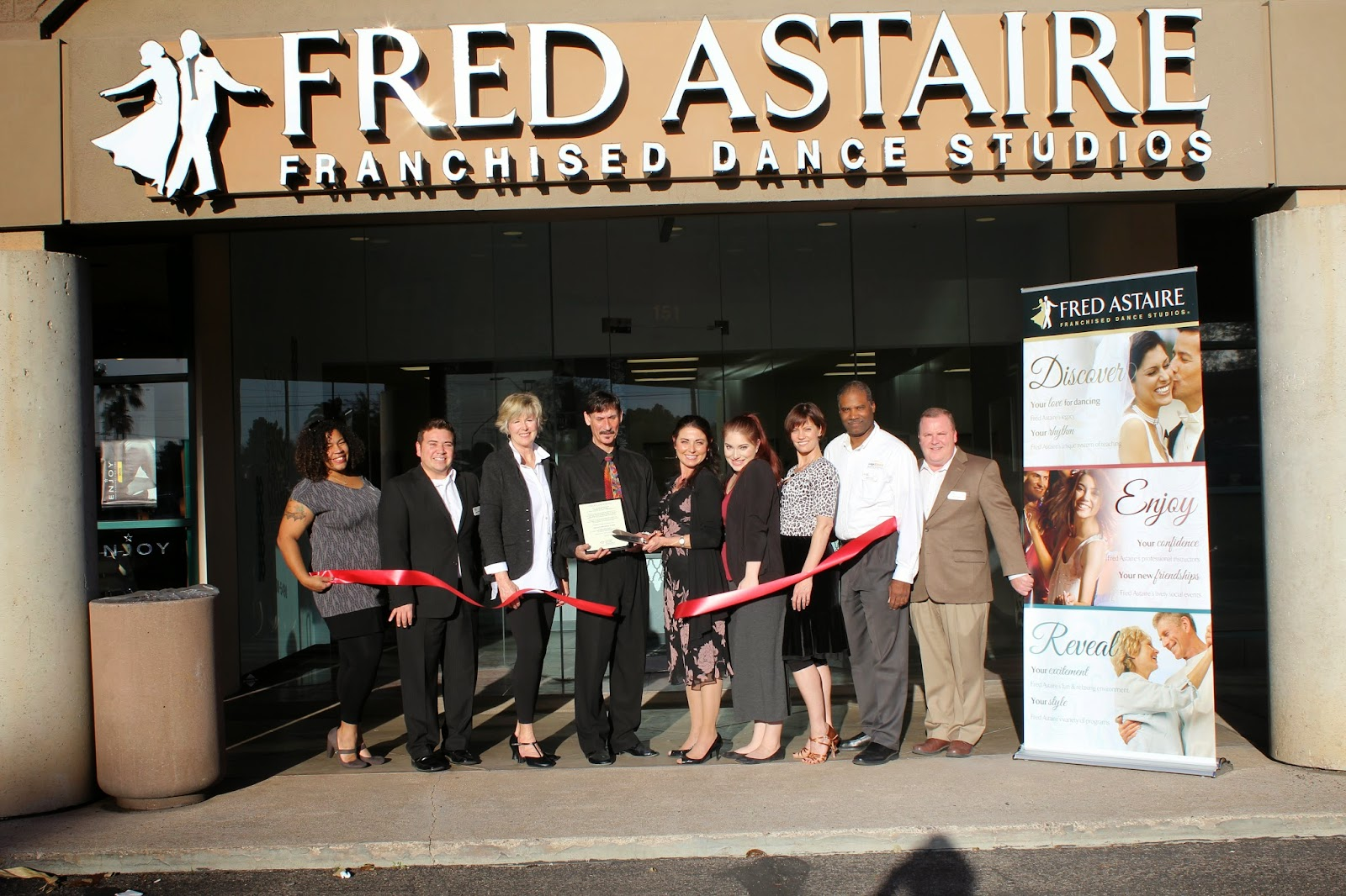 Fred Astaire is a dance studio that specializes in high quality Ballroom Dance instruction.  Fred Astaire Dance Studio 4811 E. Grant Road #151, 85712 (520) 300-5490