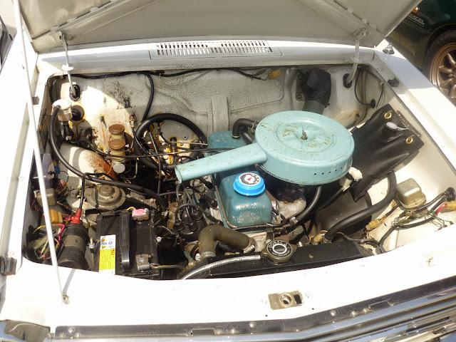 ダットサン サニーのエンジン