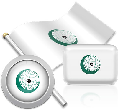 OIC flag icons pictures collection
