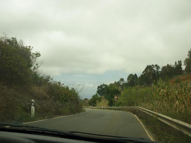 Straße in Richtung Moya