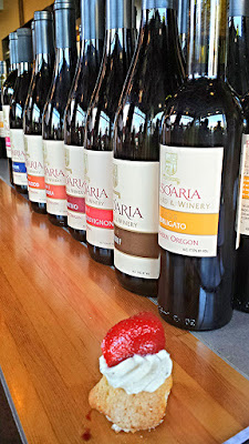 Open house at Tesoaria with a dozen wines to taste