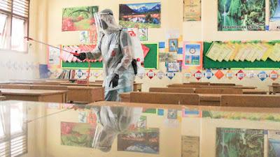 PMI Banda Aceh Kembali Lakukan Penyemprotan