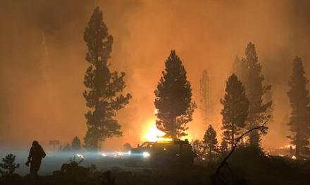 ΗΠΑ : Πύρινη κόλαση με 80 μέτωπα σε 13 Πολιτείες - Στον Όρεγκον κάηκε έκταση σαν το Λος Άντζελες