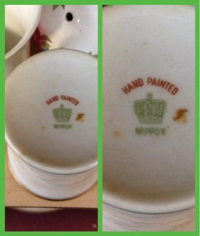 Marks nippon porcelain Nippon Vases