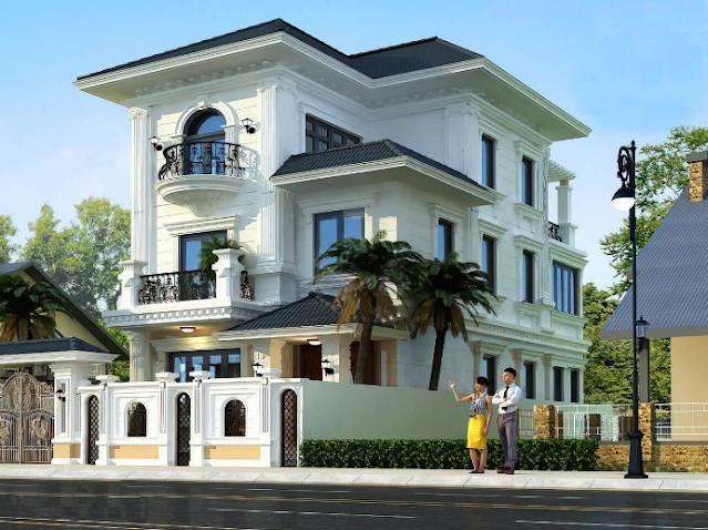 Mãn nhãn với ngôi biệt thự tân cổ điển tuyệt đẹp tại Nam Định