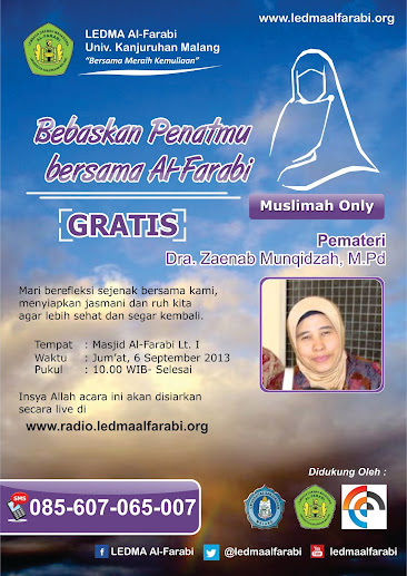 Bebaskan Penatmu Bersama Al-Farabi