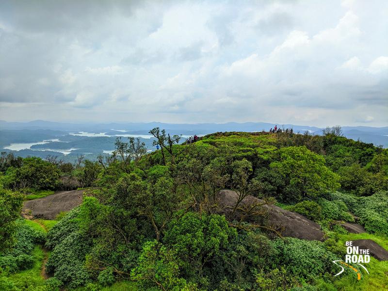 Surreal Kavaledurga Fort Top view