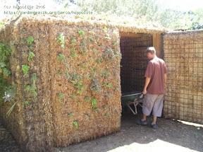 garage végétal à la pépinière grangier