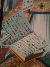 Aquí también se puede leer algo «...perdona a los que...».