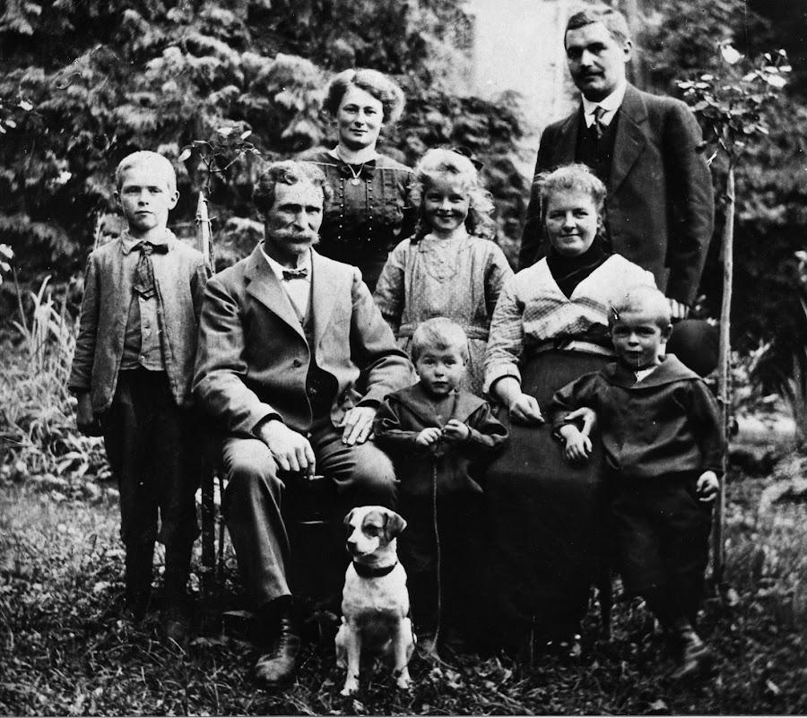 Familie Marfurt-Roth: Franz Sales Marfurt baute das Haus 1873 um dort seine Arbeitskräfte unterzubringen.