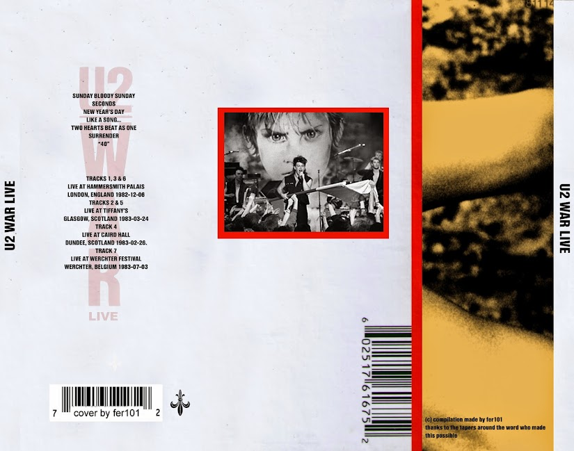 U2 - A Live History 1980-1993 (6 CD & Covers) - Guitars101