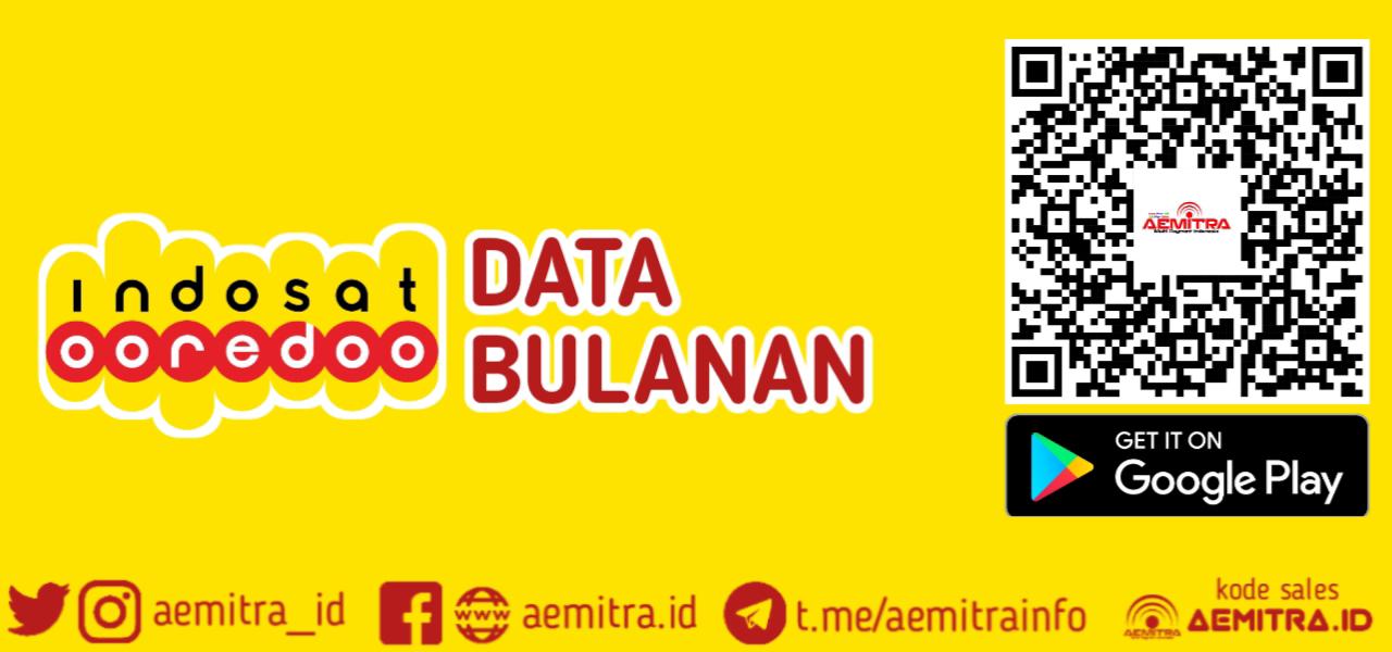 INDOSAT DATA BULANAN MURAH AEMITRA
