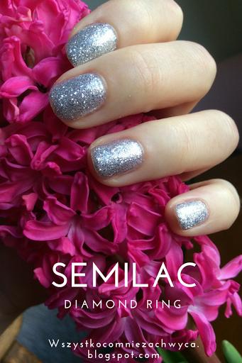 Semilac 144 Diamond Ring, lakier hybrydowy