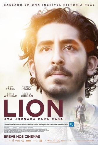 Lion - Uma Jornada Para Casa - Pôster nacional