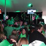 everyone in green in Toronto, Ontario, Canada