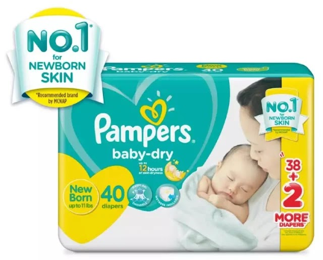 Pampers Baby-Dry diaper for newborns