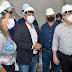 Prefeito Emerson Panta recepciona João Azevêdo em visita a obras de hospital em Santa Rita que atenderá Mari e outras cidades