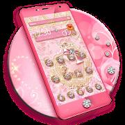 App Pink Gold Diamond Live Theme APK for Windows Phone