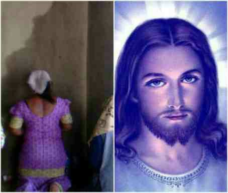 Image of 'Jesus' appears on wall of Lagos church