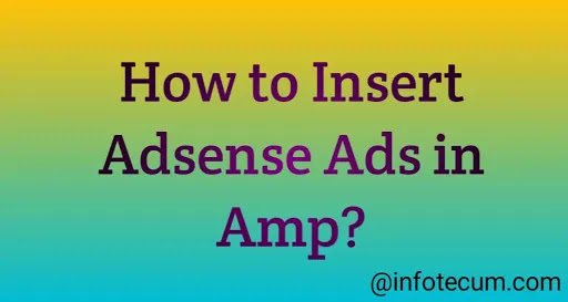 How to insert AdSense ads in an amp