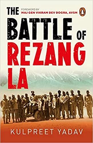 "Kulpreet Yadav New Book titled ""The Battle of Rezang La"" launched"