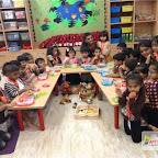 Brown Day Celebration of Nursery Afternoon Section, Witty World, Chikoowadi (2017-18)