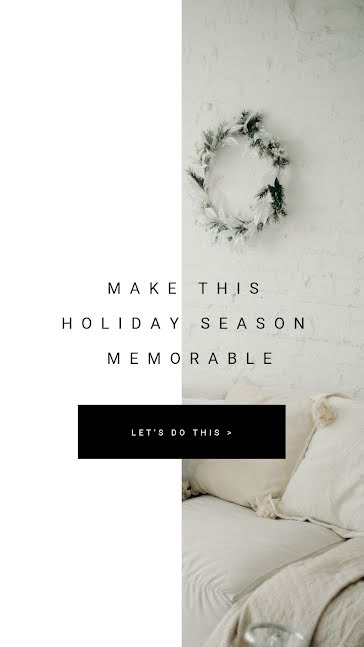 Holiday Memories - Facebook Story Template