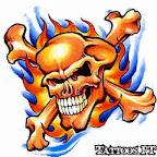 bones fire - tattoos ideas