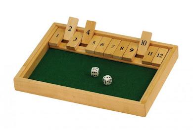 Shut the box, juego para practicar las sumas