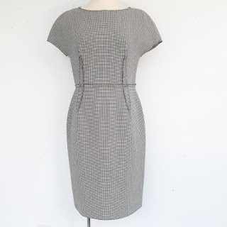 Lanvin Houndstooth Sheath Dress