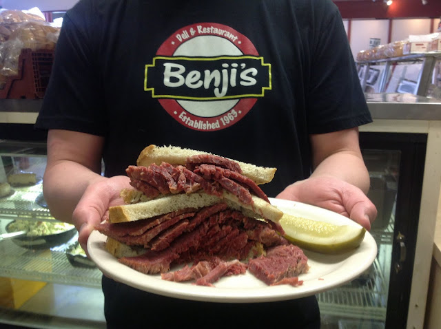 Benji's Deli and Restaurant. From Advice from a Local: 12 Best Places to Eat in Milwaukee