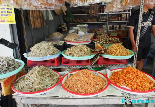 Mua gì làm quà khi tham quan làng chài Hàm Ninh Phú Quốc