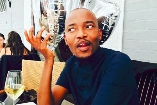 Moshe Ndiki is perfect as the host of Uyang'thanda Na? because he's spicy!