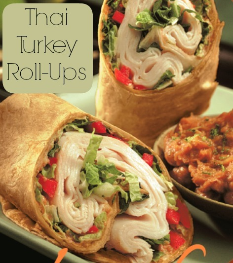 Thai turkey roll-ups